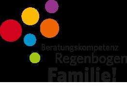 Logo des Projektes Beratungskompetenz zu Regenbogenfamilien
