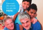 Postkarte Elternzeit